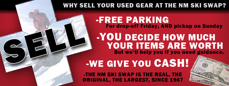 Sell your gear at the NM Ski Swap